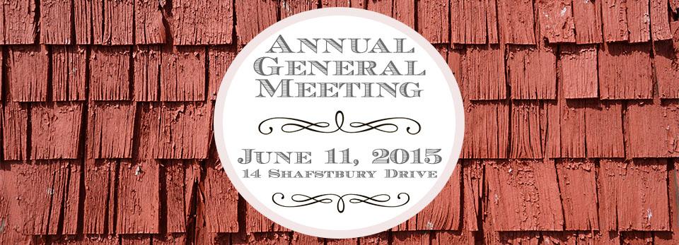 Annual General Meeting June 11